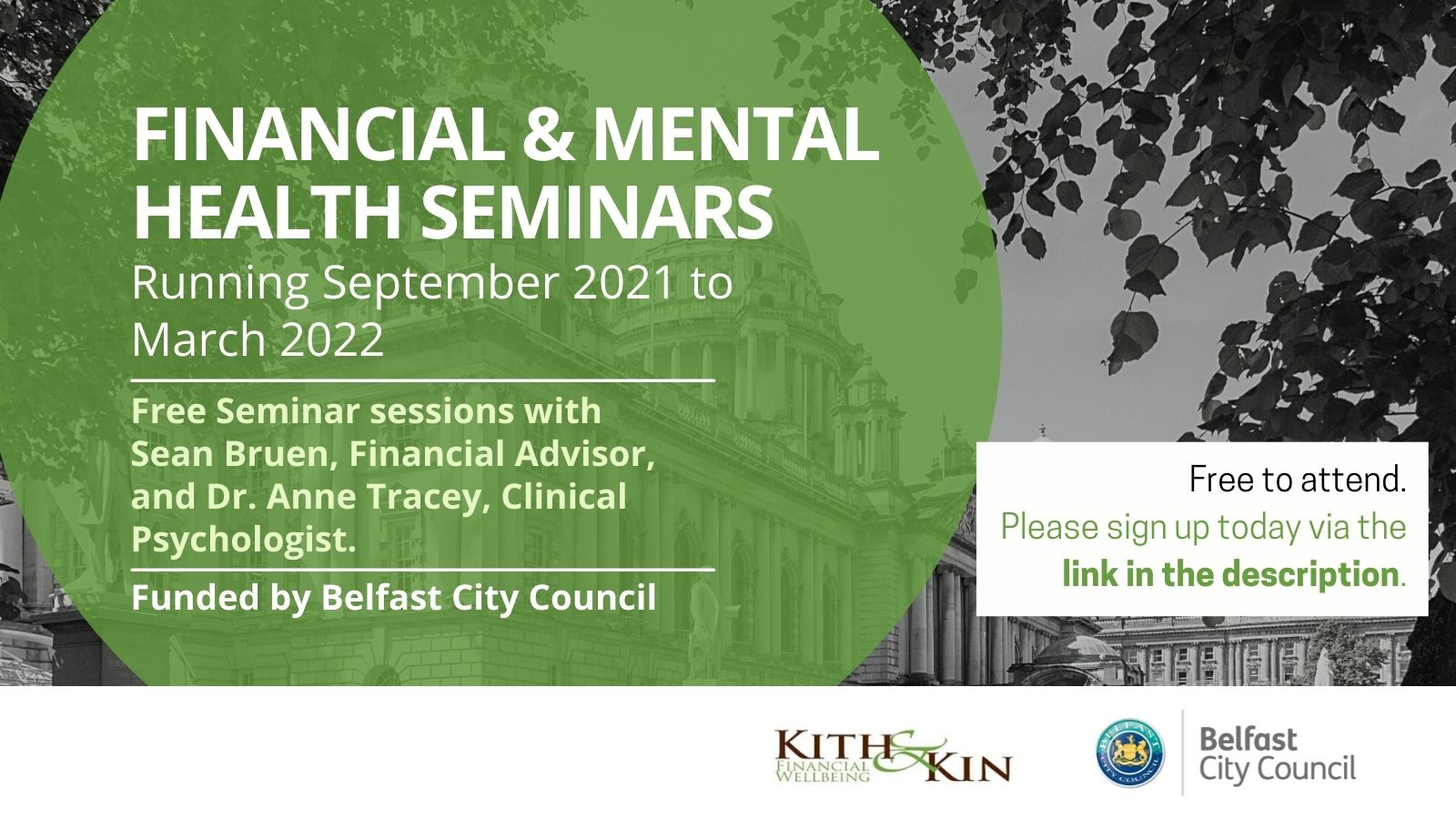 Click here to learn more about the Financial & Mental First Aid webinar
