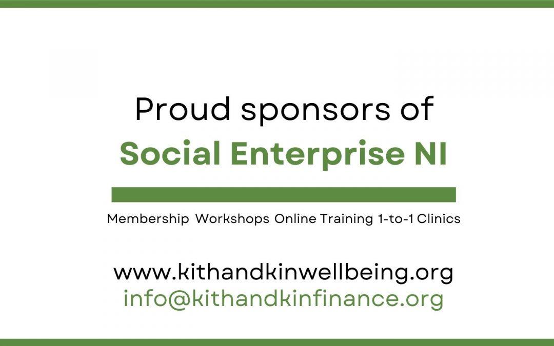 Proud sponsors of Social Enterprise NI Awards